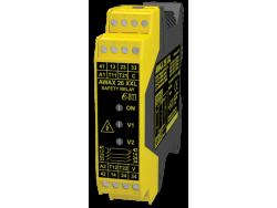 AWAX 26XXL- Relés de seguridad, casilla de verificación automática