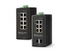 Switch Profinet gestionado de 8 puertos Gigabit