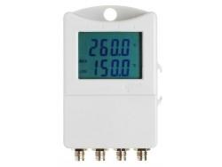 Registrador para control de temperatura