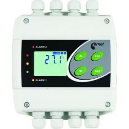 Control de temperatura regulador de temperatura HR Y presión con salida RS232 y relé Comet