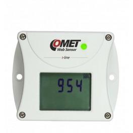 Control de temperatura transmisor de CO2 con comunicación Ethernet Comet T5540
