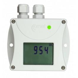 Control de temperatura transmisor de CO2 con comunicación RS485 Comet T5440