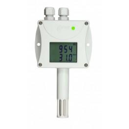 Control de temperatura transmisor de temperatura HR y CO2 con comunicación RS232 Comet T6340