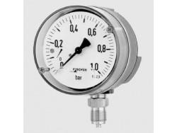 Control de presión manómetro Fischer MA 12