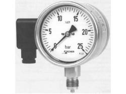 Control de presión manómetro Fischer MA32