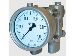 Control de presión diferencial manómetro Fischer DA03