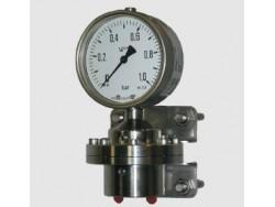 Control de presión diferencial manómetro Fischer DA09