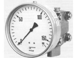 Control de presión diferencial manómetro Fischer DA01