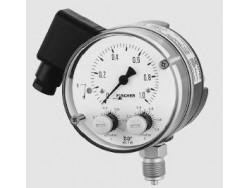 Control de presión regulador de presión con indicación Fischer MS11