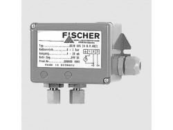 Control de presión diferencial transmisor Fischer DE28
