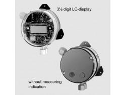 Control de presión diferencial transmisor Fischer DE16