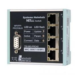 GATEWAY NETLink® Switch, pasarela Ethernet con interruptor de 4 puertos integrado