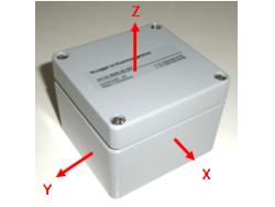 Logger de aceleración 3D MR450 MICRONOR, control de incidencias durante el transporte