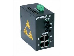 305FX-N Industrial Ethernet Switch with Monitoring