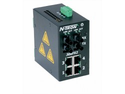 306FX2-N Industrial Ethernet Switch with Monitoring