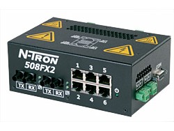 508FX2-A Industrial Ethernet Switch for Process Control