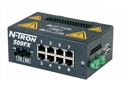 509FX-A Industrial Ethernet Switch for Process Control
