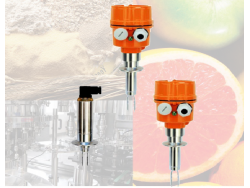 Interruptor de nivel vibratorio de tipo  horquilla SCS para uso alimentario