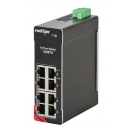 1008TX Gigabit Industrial Ethernet Switch 8 puertos