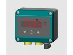 Indicador de presión diferencial transmisor Fischer DE 38