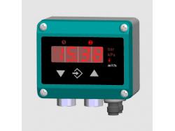 Indicador de presión diferencial transmisor Fischer DE39