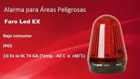 Faro LED EX