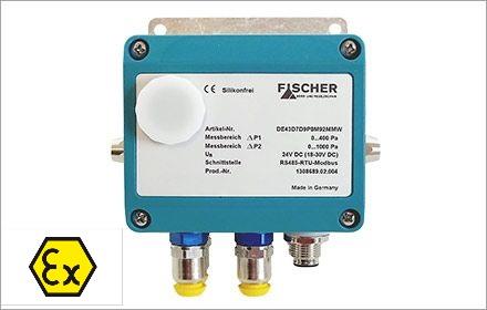 transmisor presión diferencial ATEX doble canal