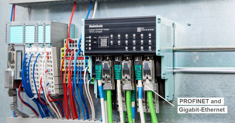 Flextra profinet switch