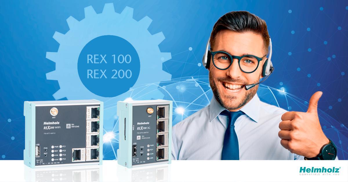 gama REX para control remoto
