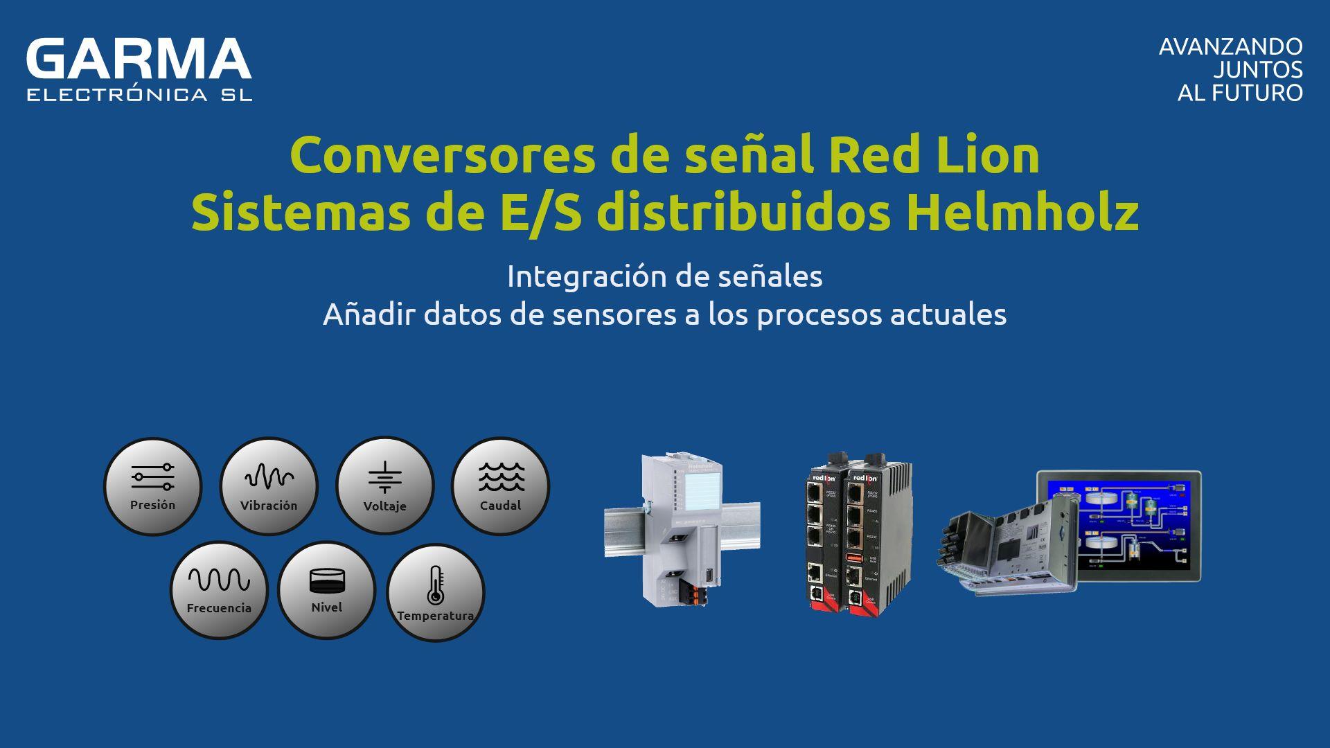 Conversores de señal Red Lion Sistemas de E/S distribuidos Helmholz