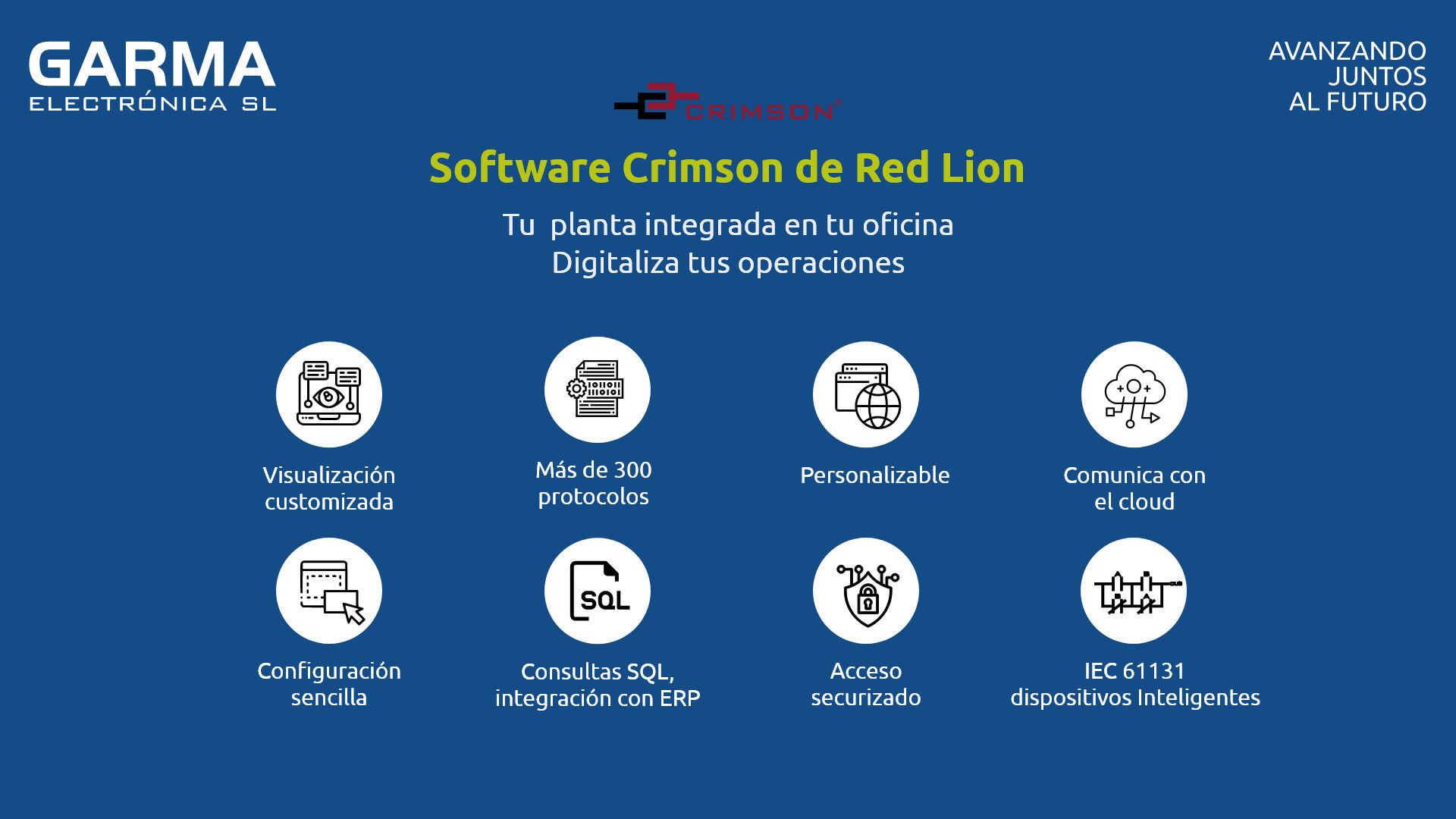 Plataforma de programación de software Crimson de Red Lion