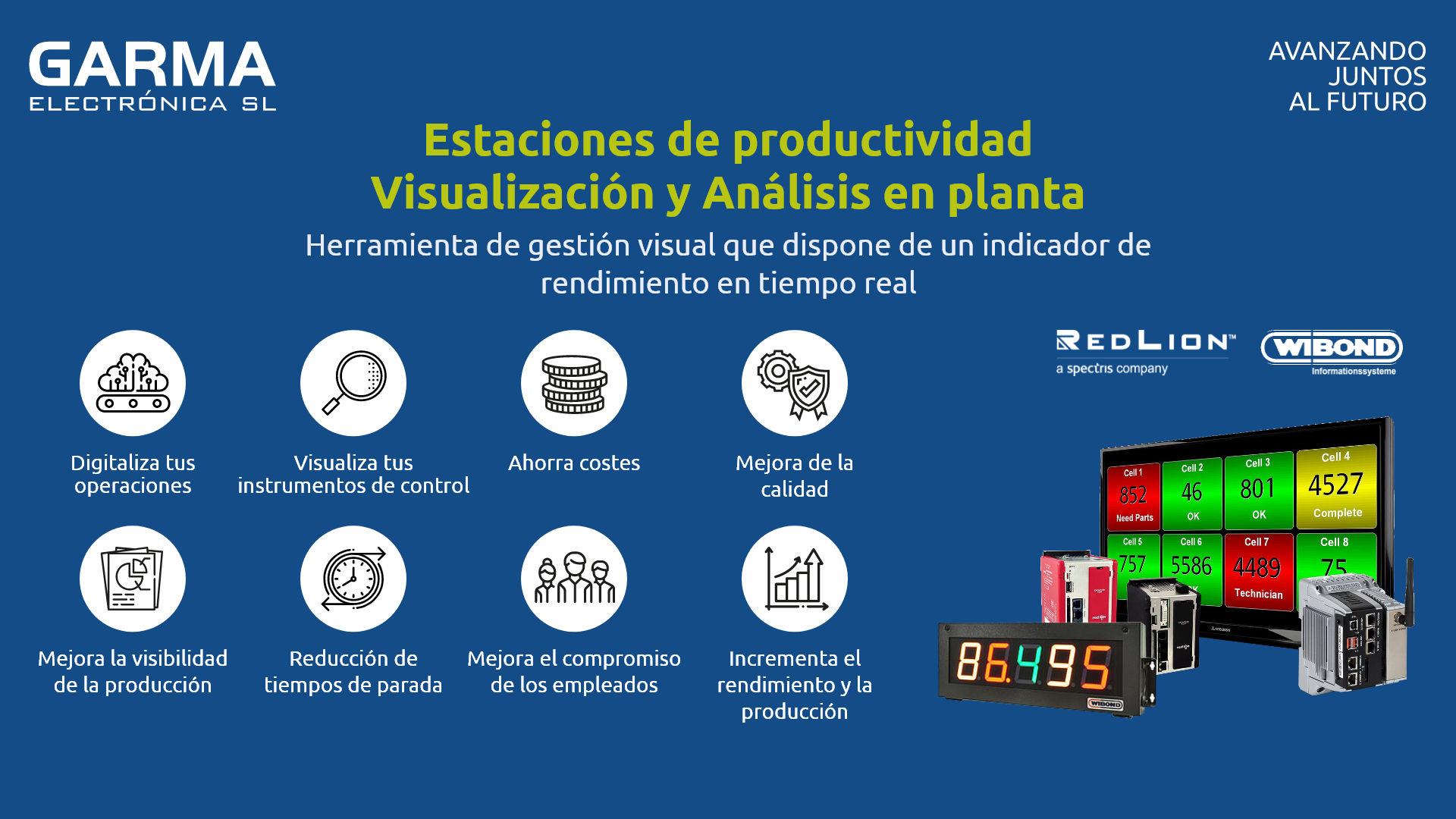 Estaciones de productividad Red Lion