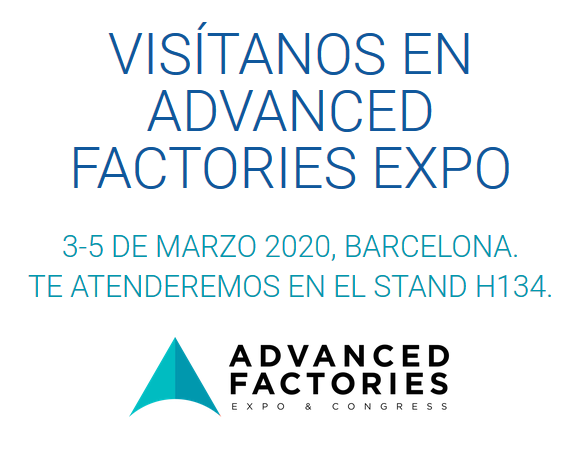 Visitanos en Advanced Factories Expo