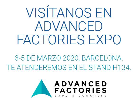 Visitanos en Advanced Factories Expo