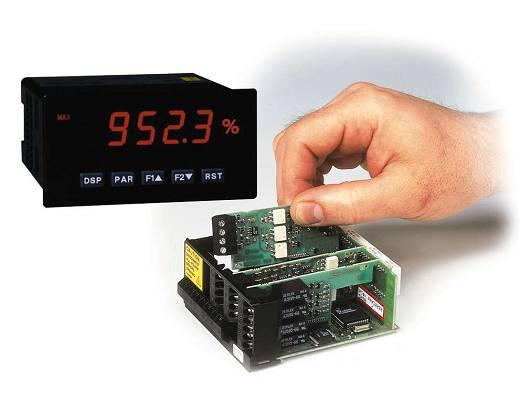 Ejemplo de instalación de tarjetas modulares en indicador PAX