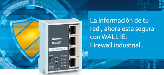 Firewall industrial WALLIe