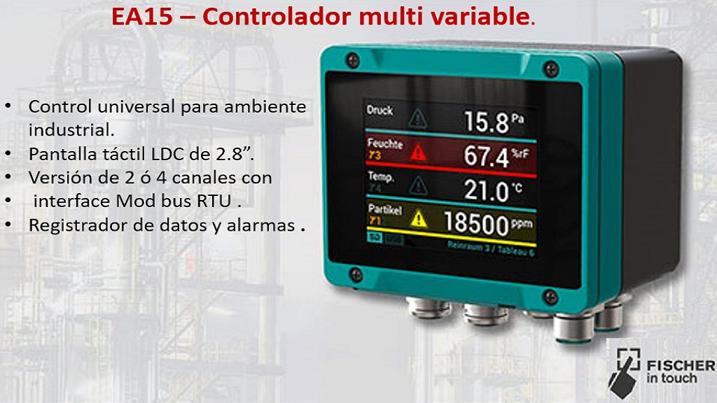Fischer controlador multivariable EA15