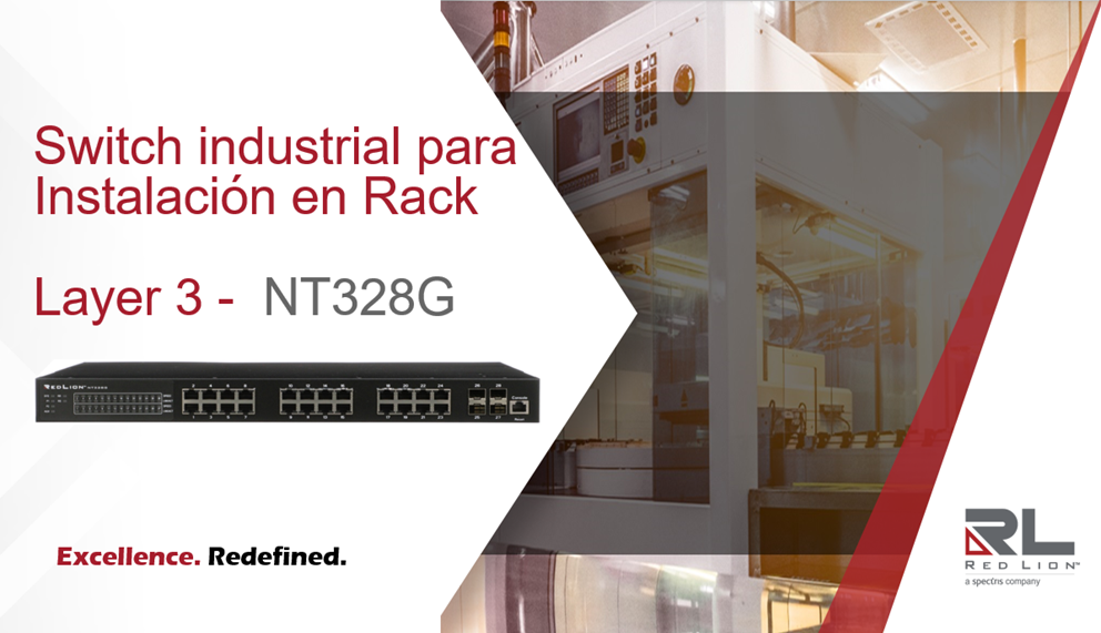 Nuevo switch layer 3 Red Lion
