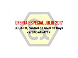 Oferta Especial nivel ATEX  Julio 2017