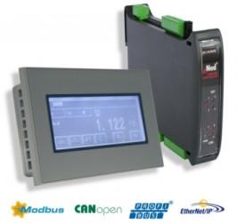 Scaime presenta el HMI eNodTouch, para aplicaciones de pesaje.