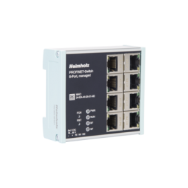 Helmholz presenta los Switch gestionados Profinet de 4 y 8 puertos.