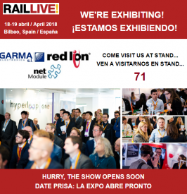Rail Live Bilbao 2018 is waiting for you, ¡You can not miss it!