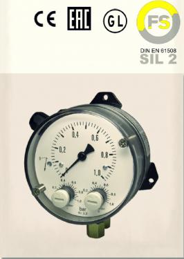 Fischer - Transmisor de presión diferencial DS11 con certificación SIL II