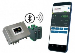 Scaime launches a mobile application to control Enod via bluetooth.