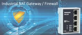 Helmholz - Gateway NAT y firewall industrial Wall IE