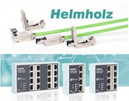 Helmholz.- Componentes para redes Profinet , switches y conectores .
