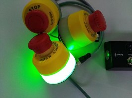 Comitronic- Seta de emergencia luminosa.