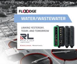 Red Lion-FlexEdge para aplicaciones de aguas y aguas residuales