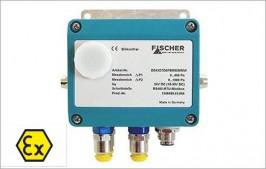 Fischer -DE43 Transmisor de presión digital de doble canal